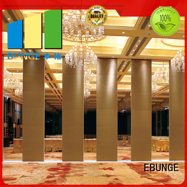 EBUNGE half wall room divider supplier for hotel