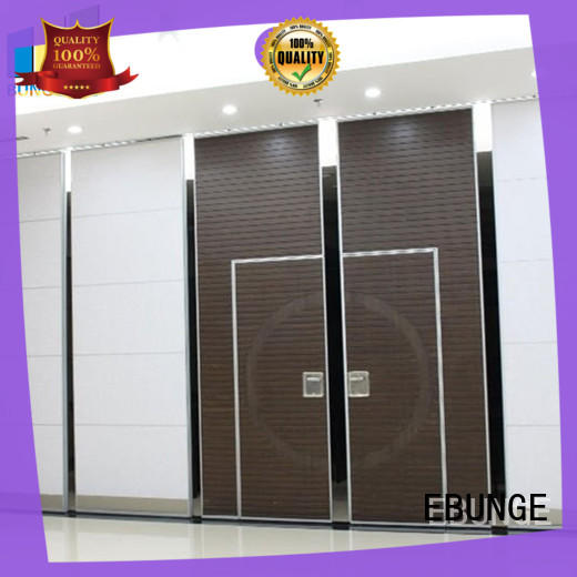 EBUNGE sliding wall dividers series for hotel