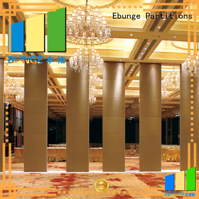 EBUNGE multipurpose sliding partition doors customized for banquet halls