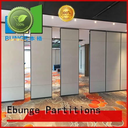 EBUNGE professional hall partition design for meeting room