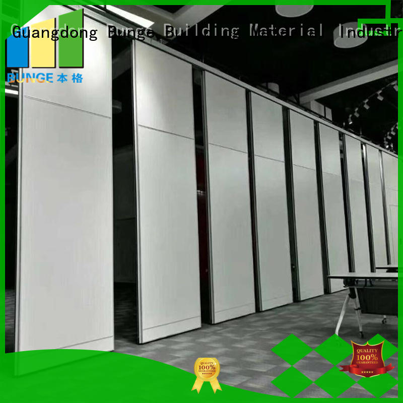wooden temporary partition wall directly sale for auditorium