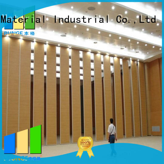 EBUNGE professional sound proof partition wall wholesale for banquet hall