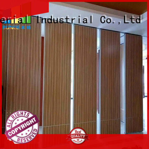 EBUNGE convenient interior partition wall factory direct supply for function hall