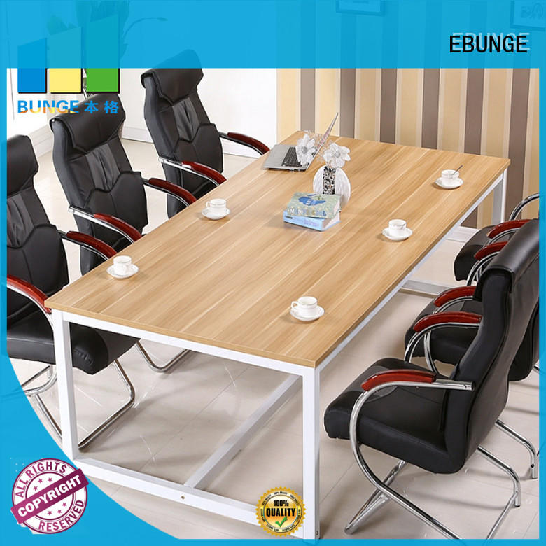 EBUNGE metal board 4 person workstation desk from China for boardroom
