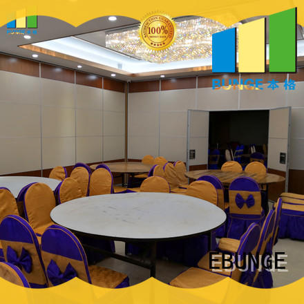 EBUNGE acoustic partition wall directly sale for exhibition centers