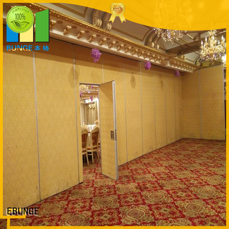 EBUNGE sliding operable partition walls factory direct supply for office