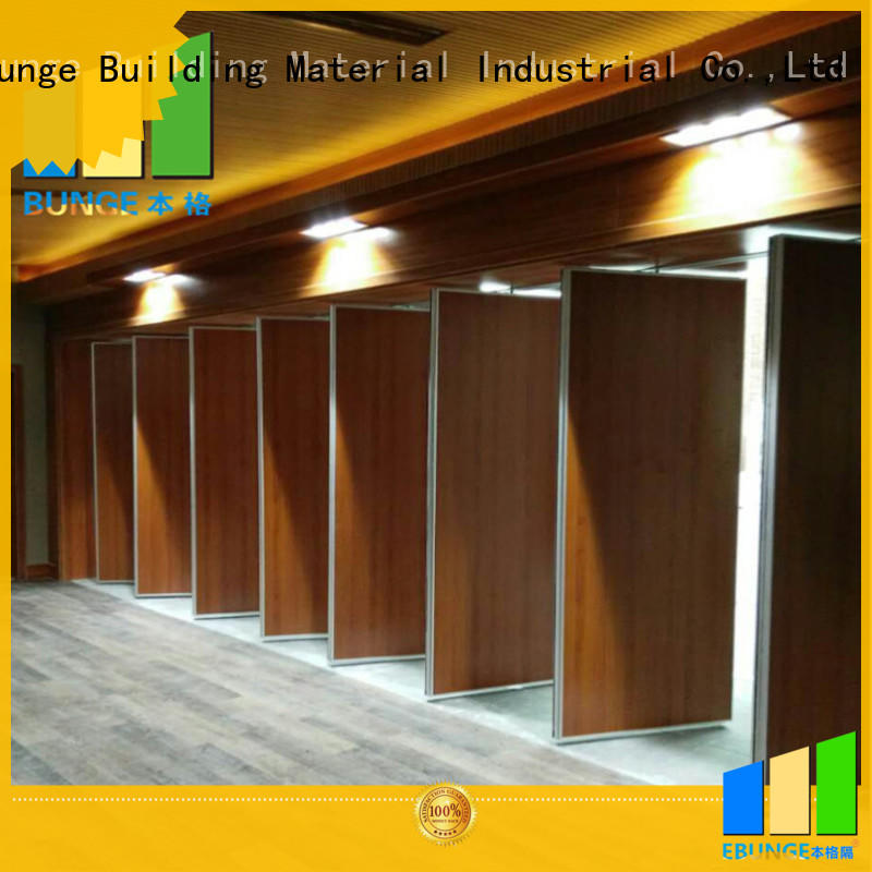 EBUNGE movable room partition with door manufacturer for function hall