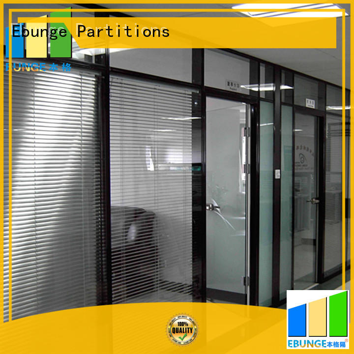EBUNGE flexible glass partition wall design supplier for banquet hall
