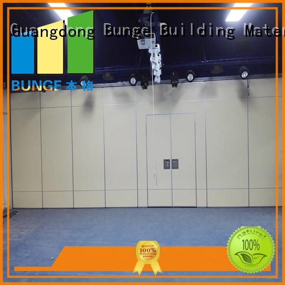 EBUNGE conference acoustic operable walls series for conference room