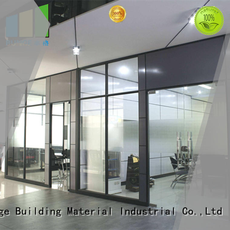 EBUNGE glass walls and doors directly sale for banquet hall