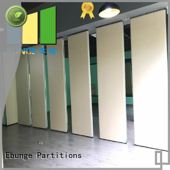 EBUNGE wall partition with door supplier for conference room