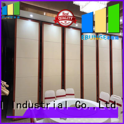 MDF movable walls factory direct supply for conference room