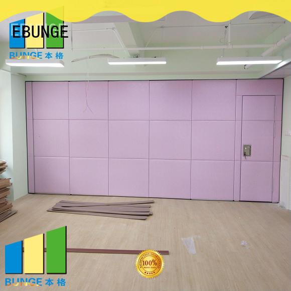 EBUNGE sliding wall panels wholesale for banks