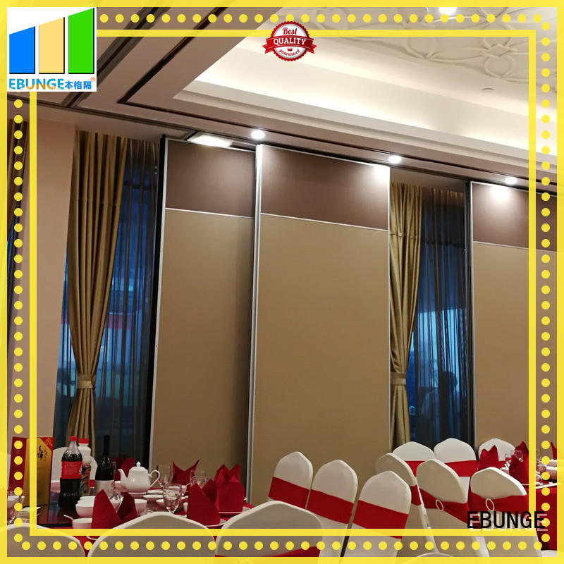 EBUNGE aluminium acoustic operable walls wholesale for hotel