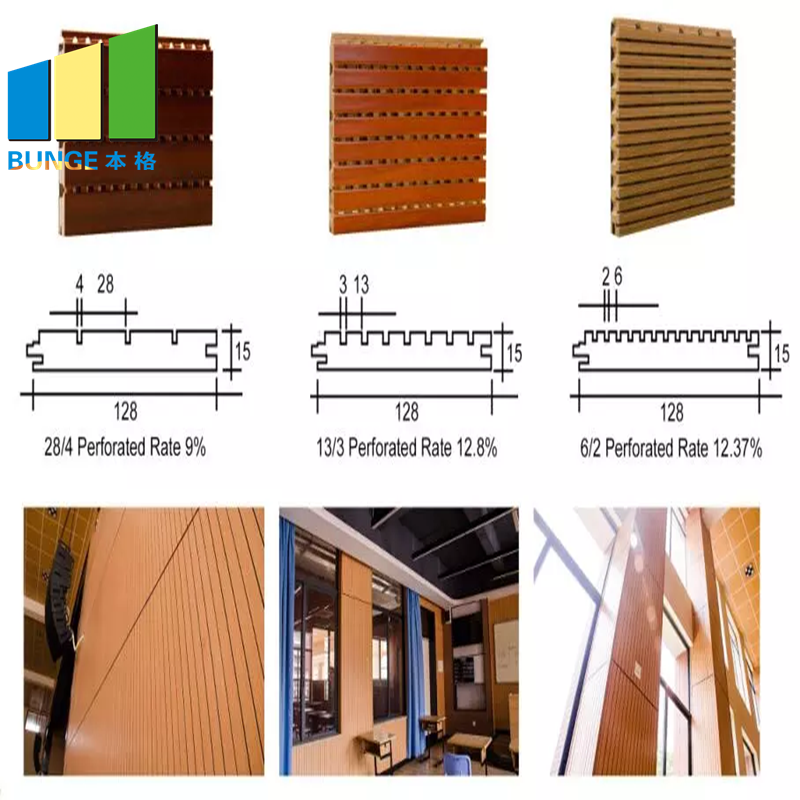 Bunge-Find Sound Absorbing Panels Sound Diffuser Mdf Board-2
