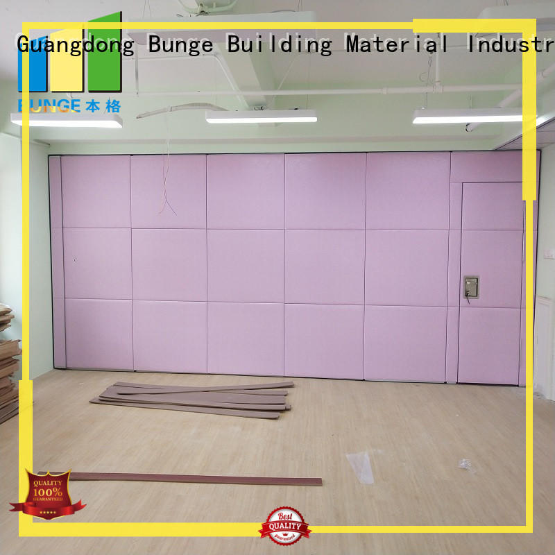 EBUNGE acoustic partition wall wholesale for meeting rooms