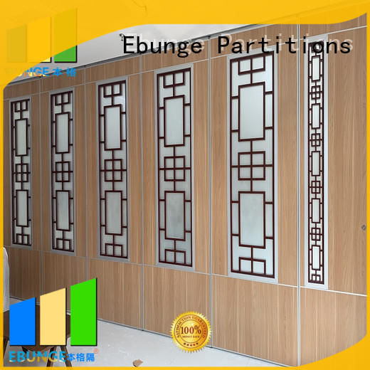 EBUNGE popular wooden partition factory for meeting room