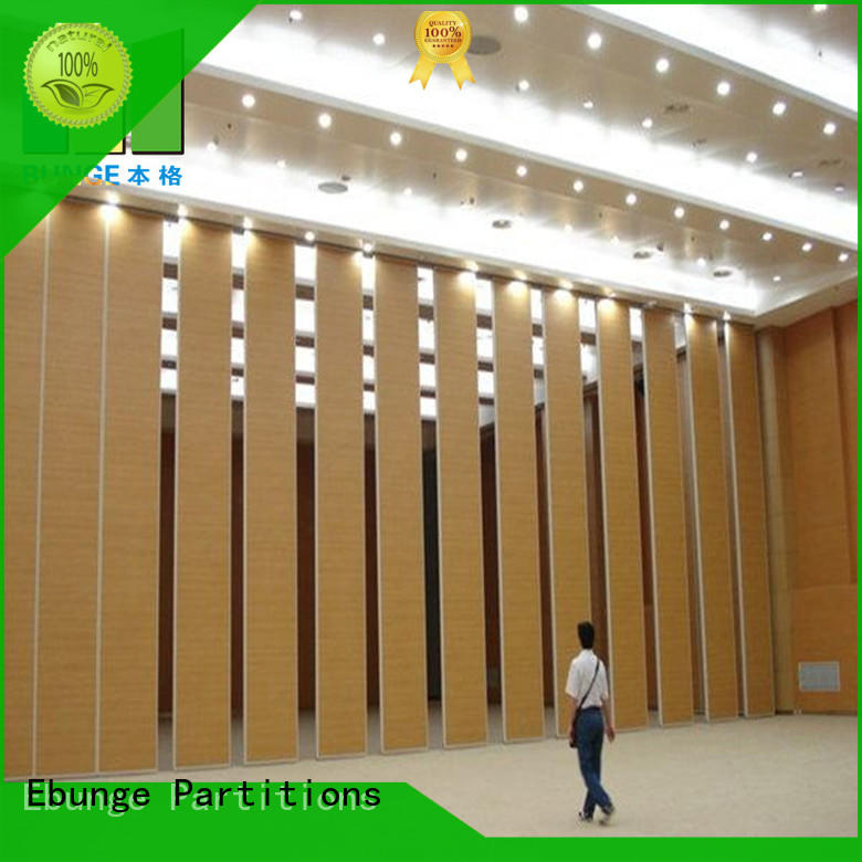 folding acoustic operable walls wholesale for banquet hall