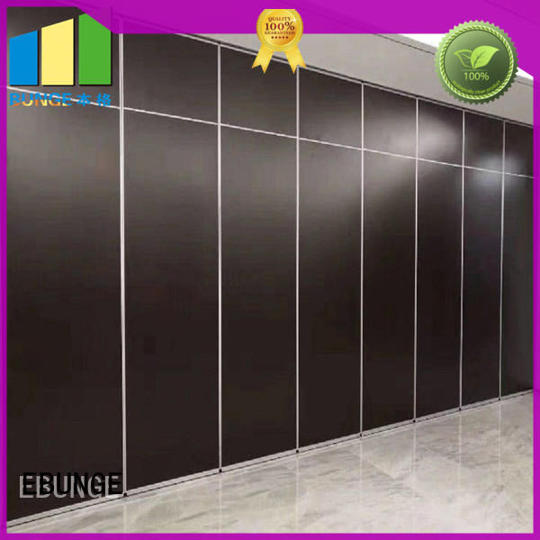wooden movable walls supplier for hotel