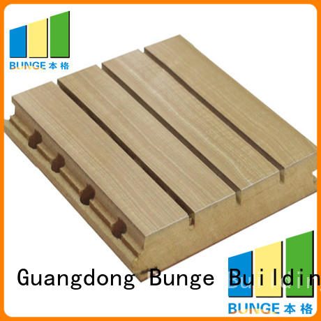 music acoustic soundproofing acoustic panel material Bunge Brand
