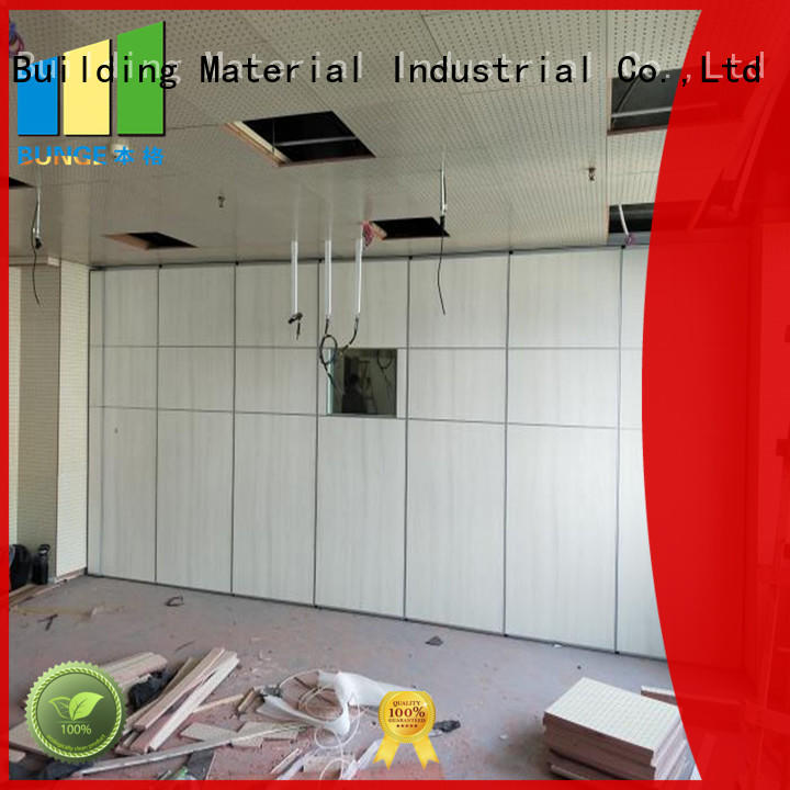 EBUNGE modular residential movable walls for restaurant