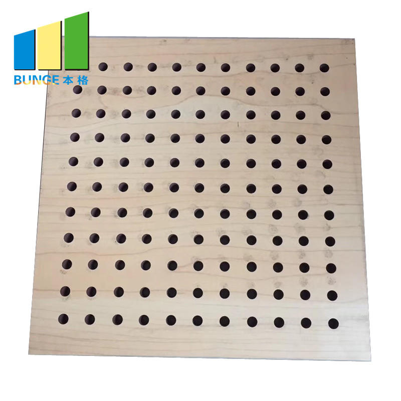 Bunge-Professional Acoustic Soundproofing Panels Wooden Acoustic Panels Manufacture