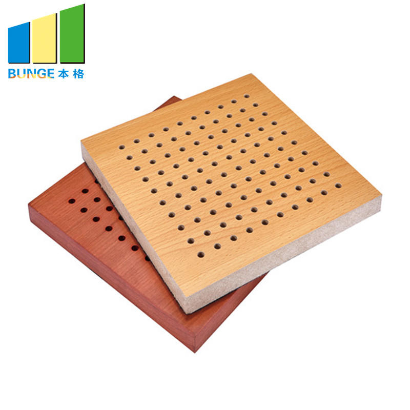 Bunge-Find Noise Reduction Panels Fireproof Perforated Wooden Acoustic-1