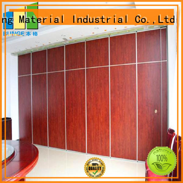 EBUNGE sliding commercial room dividers series for banquet hall