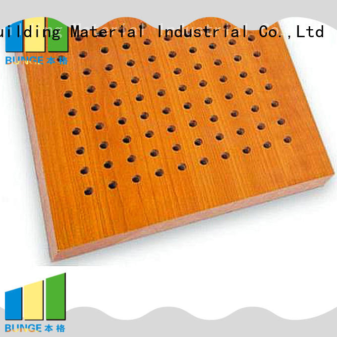 mdf building sound suppression panels Bunge Brand