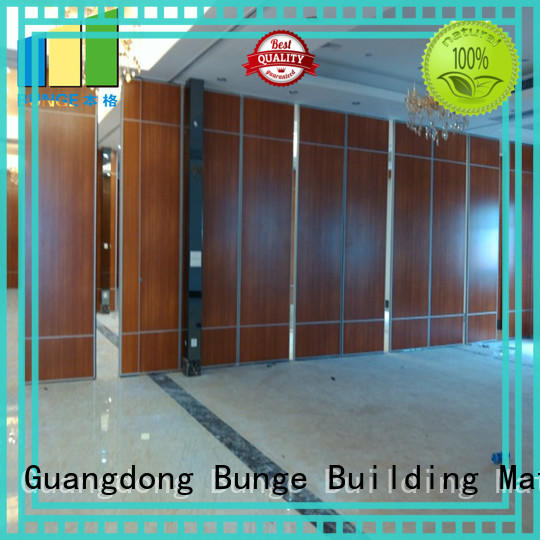 EBUNGE acoustic partition wall series for meeting rooms