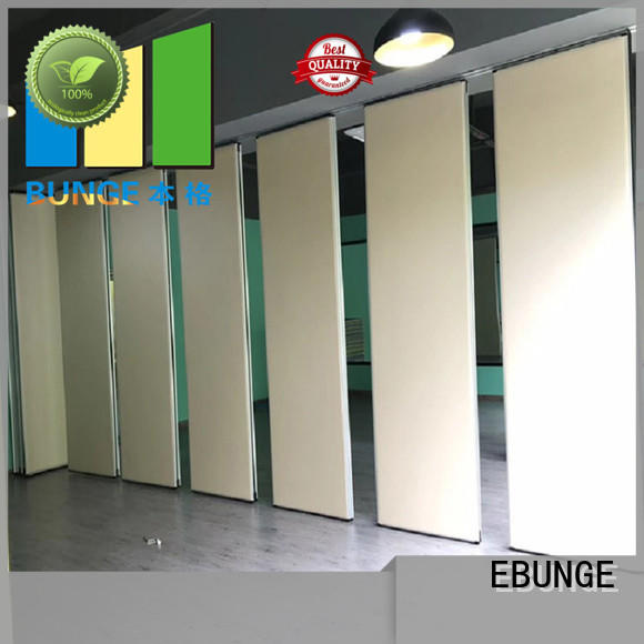 EBUNGE style movable partitions
