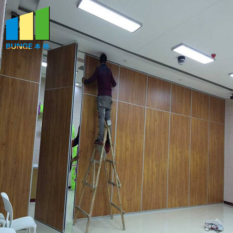 Bunge-High-quality Rolling Partition Wall | Banquet Hall Removable Sound Proofing-1