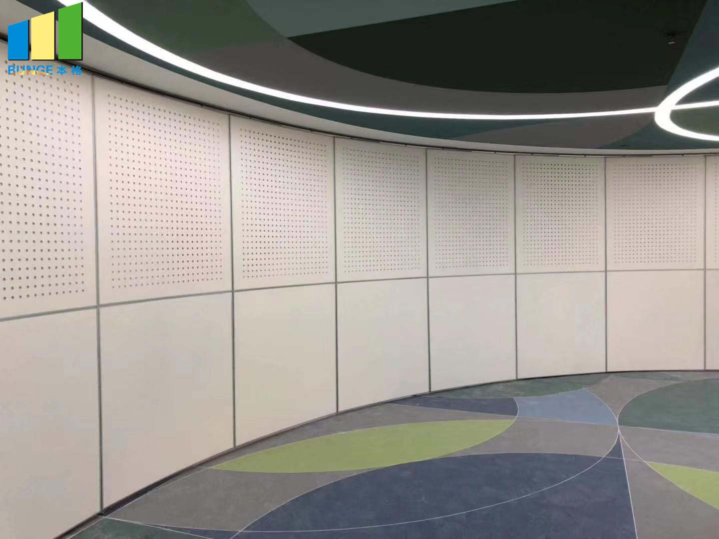 Bunge-Manufacturer Of Retractable Wall Interior Mobile Operable Sliding Sound-1
