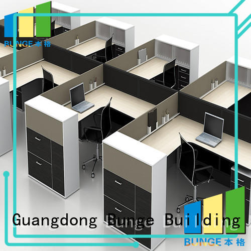 secretary table office partitions meeting saving Bunge company