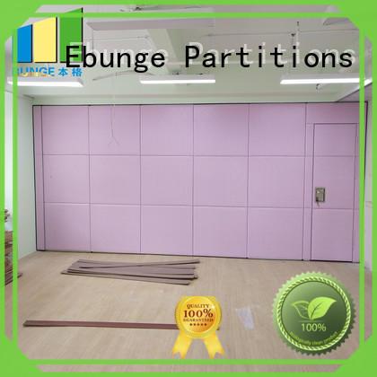 MDF sliding room dividers manufacturer for banquet halls
