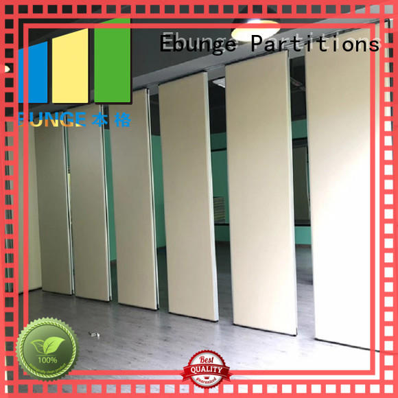 EBUNGE movable operable partitions supplier for auditorium