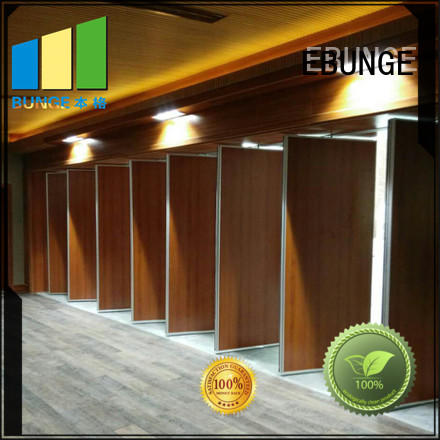 EBUNGE room partition with door wholesale for conference hall
