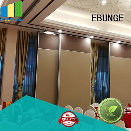 EBUNGE moveable walls manufacturer for banquet hall