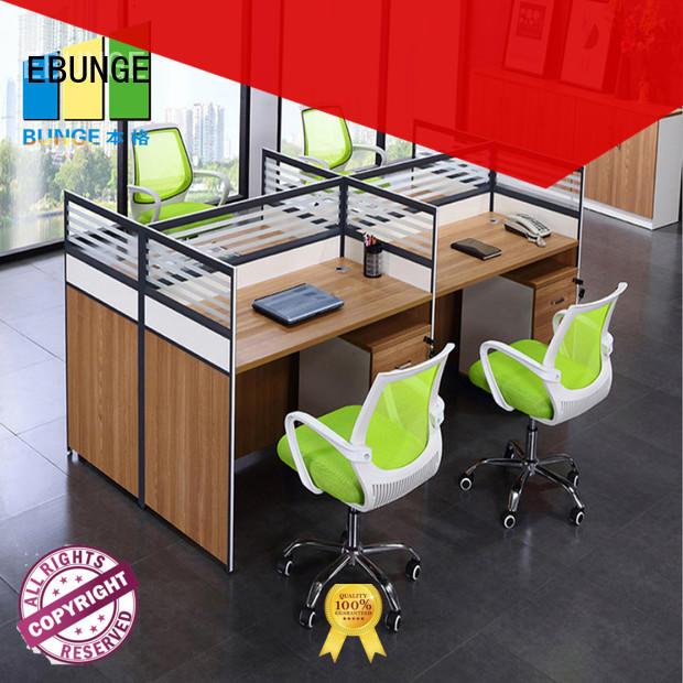 EBUNGE modular workstation supplier for bank