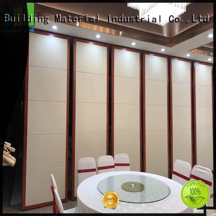 EBUNGE melamine finish movable room dividers manufacturer for meeting rooms