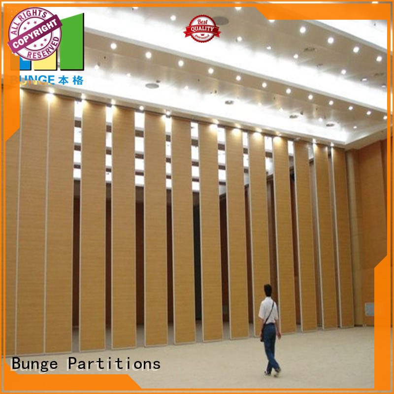 EBUNGE convenient operable partition walls hanging for hotel