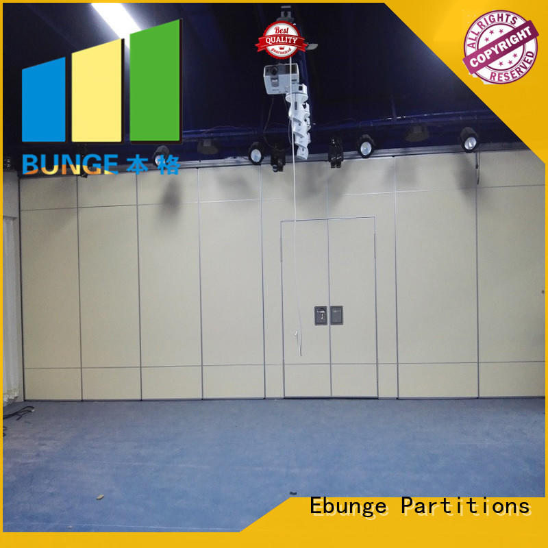 EBUNGE folding operable wall factory direct supply for conference room
