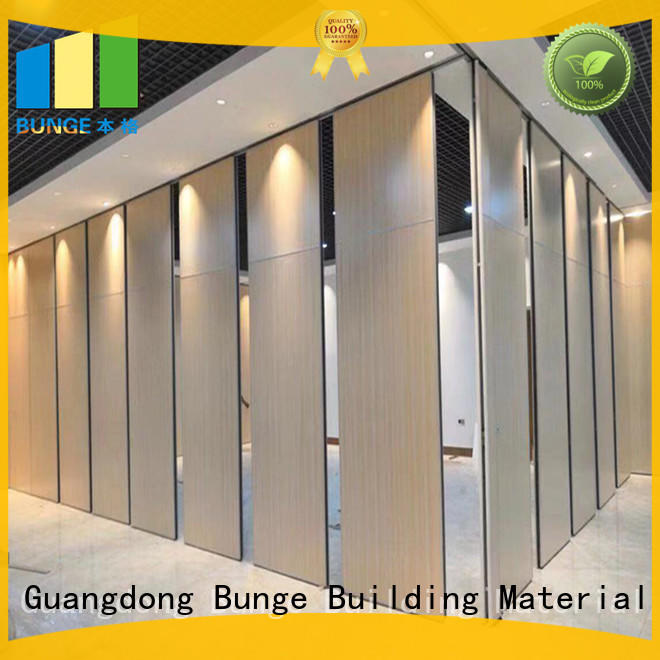 decorative moveable partition factory direct supply for hotel