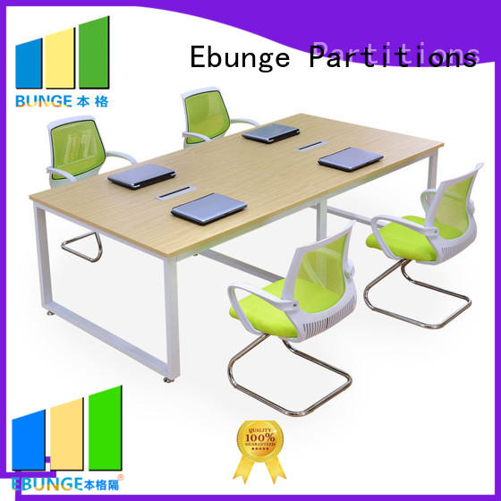 EBUNGE wood conference tables personalized for work