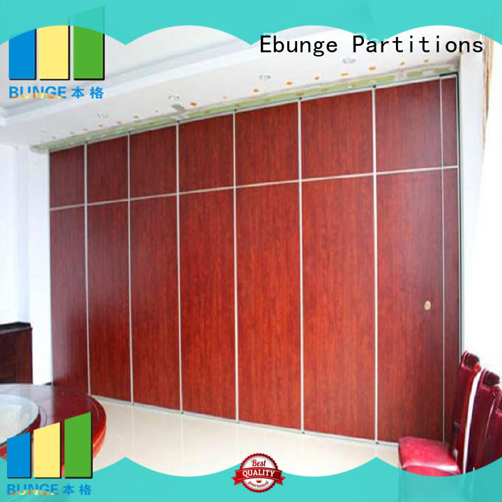 EBUNGE movable walls customized for hotel