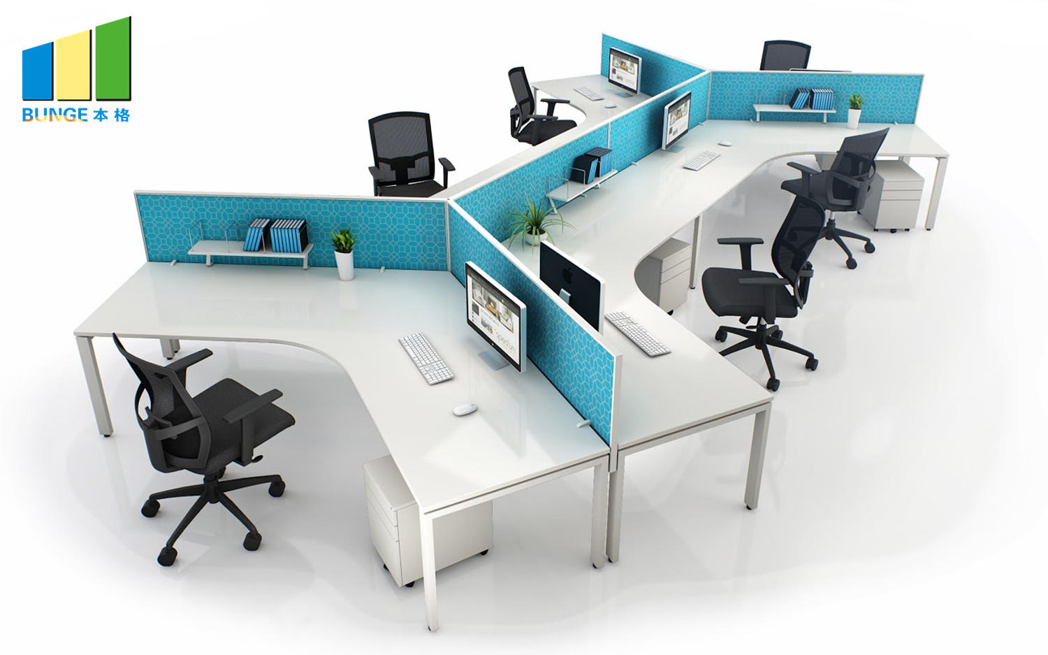 EBUNGE workstation furniture manufacturer for office-1