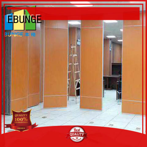 EBUNGE half wall room divider manufacturer for shop