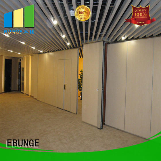 MDF movable divider walls factory direct supply for exhibition centers