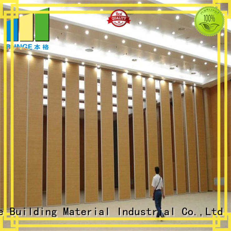 EBUNGE sound proof partition wall factory direct supply for hotel