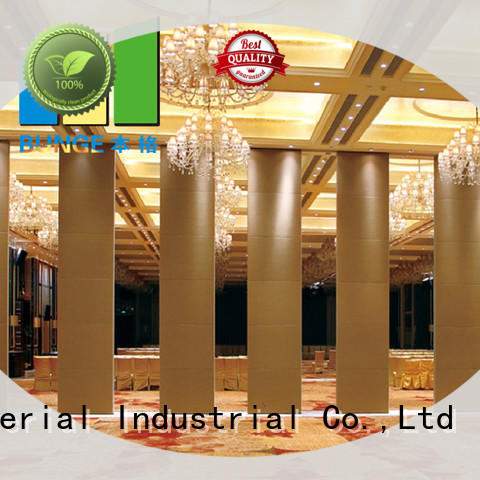 wooden partition wall types manufacturer for meeting room
